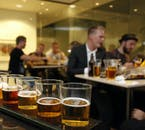 There is a wide selection of different beers conceived and produced in Reykjavík.