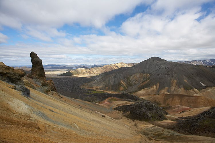 The landscapes of the Icelandic Central Highlands is as unique as its dramatic.
