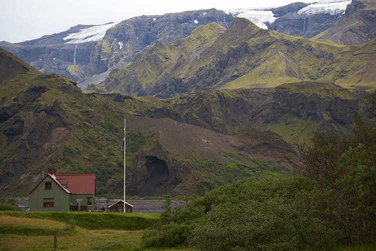 Mountain huts in Iceland provide a level of comfort that camping in a tent just can't provide.