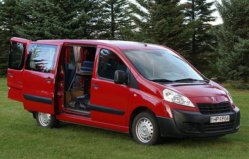 Peugeot Expert Campervan 2015