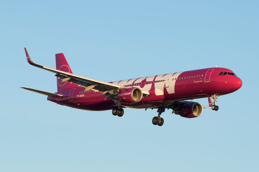 WOW Air Iceland Airbus.