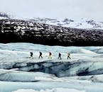 Be sure to always follow the advice of your guides during glacier hiking tours.