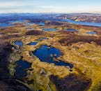 The Highlands of Iceland are riddled with beautiful crater lakes.