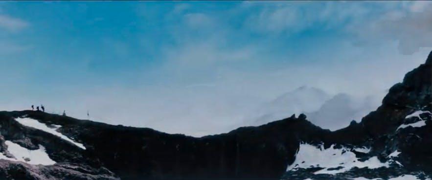 發夢王大歷險在冰島取景拍攝