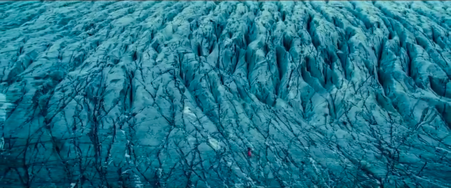 the secret life of Walter mitty 拍攝的冰島冰川