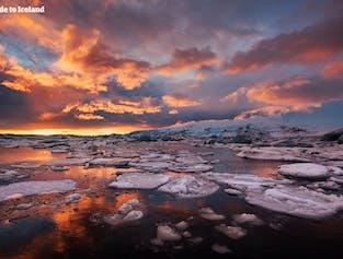 2-tägige Südküsten-Tour im Minibus | Gletscherwanderung und Gletscherlagune