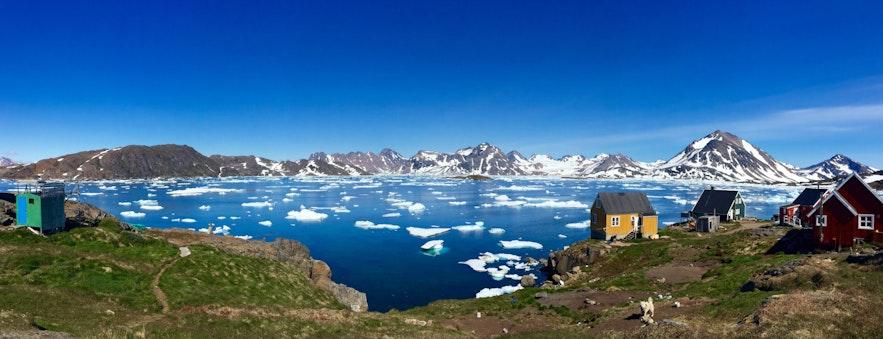 格陵兰签证攻略 北极圈旅游