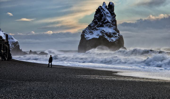 The black beach Reynisfjara on the South Coast of Iceland is one of the most mystical and magical places in the country.