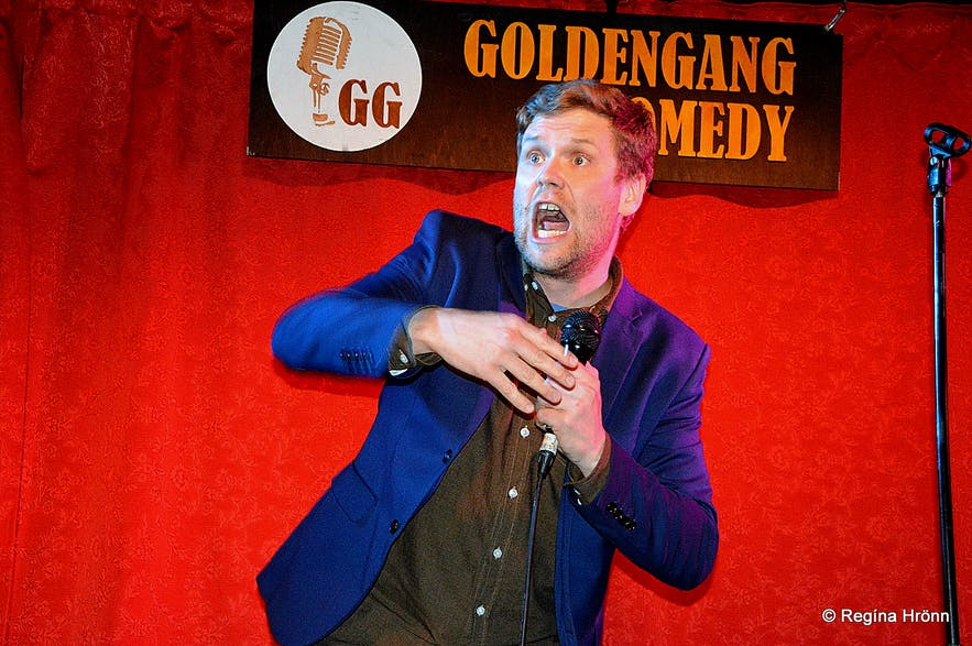 Stand-up Comedy in Iceland - the Comedy Club & the Golden Gang - Come Talk Funny - a Show in English