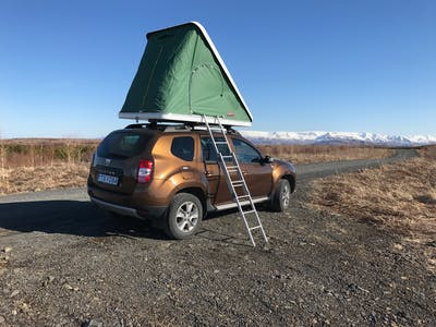 Dacia Duster - With a rooftent 2015