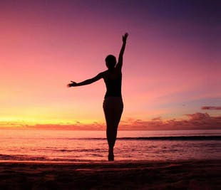 Yoga on the Black Sand Beach | South Iceland