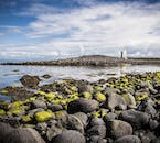 Iceland has an amazing coastline all the way around the country, with black-sand beaches, cliffs, and rocky shores.