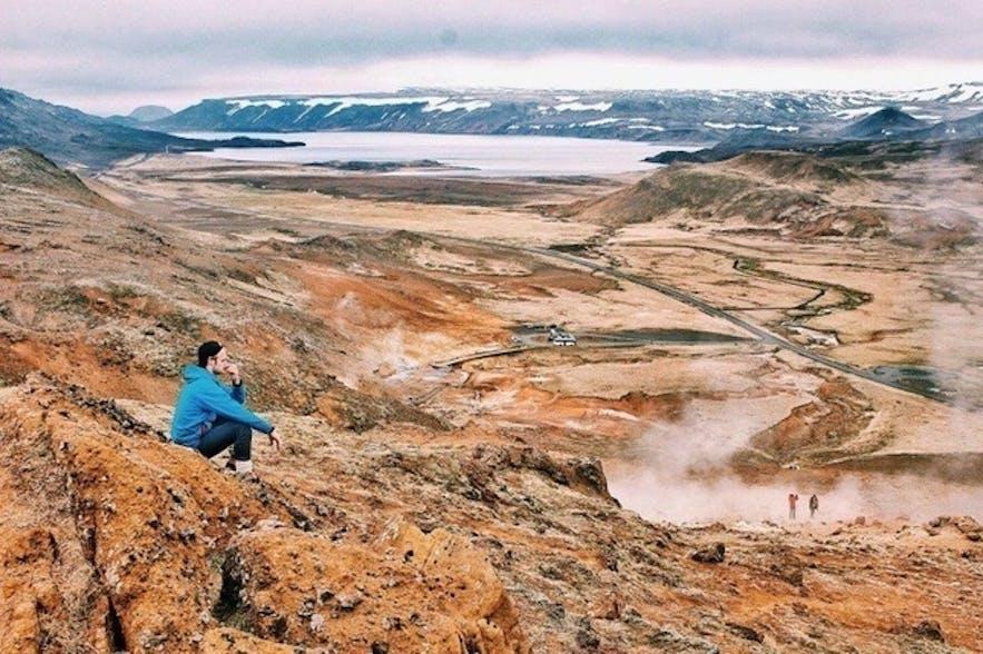 원하는 아이슬란드의 산 트레킹도 하고