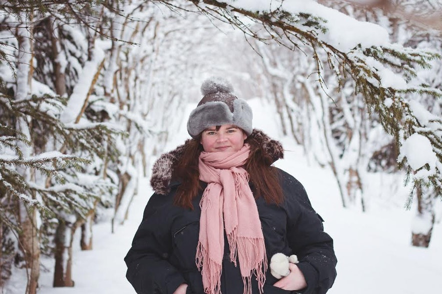 Icelandic blogger Auður runs the blog I Heart Reykjavík