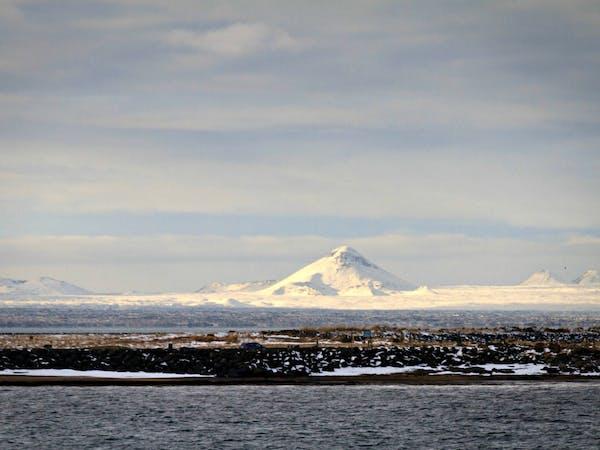 Reykjavik erupts
