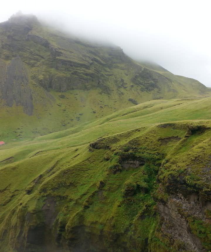 Skogafoss na południu Islandii