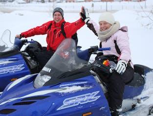 Snowmobile Excursion   Adventure Tour from Akureyri