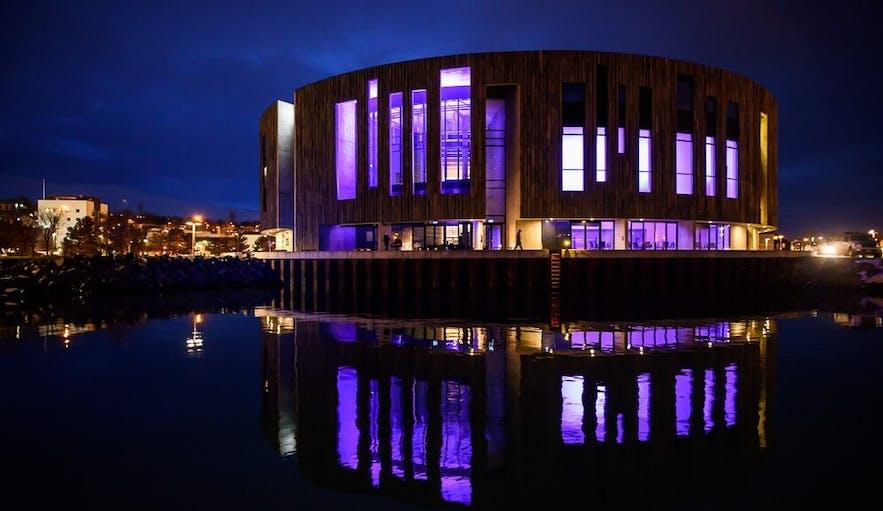 Centrum kultury w Akureyri.