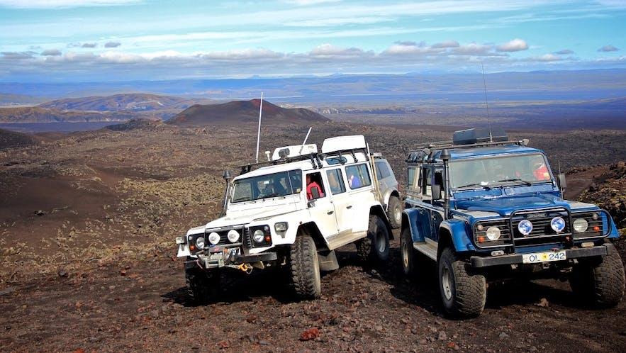 冰島超級吉普車