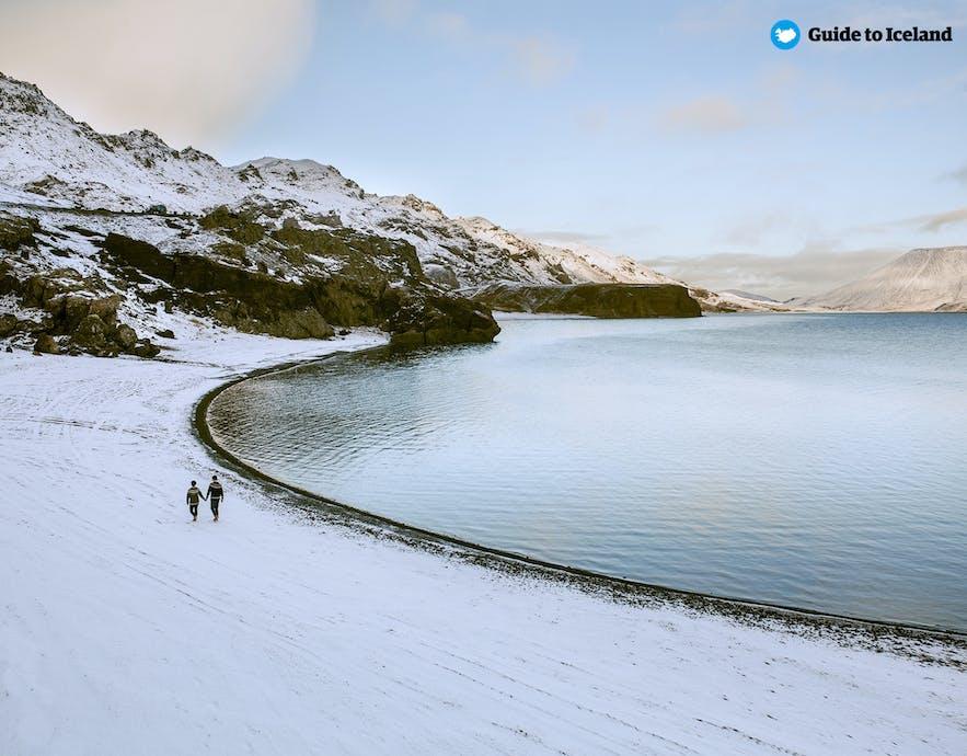 在冰岛旅行有很大的自由空间