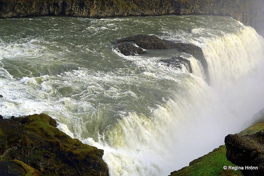 Gullfoss waterfall South-Iceland