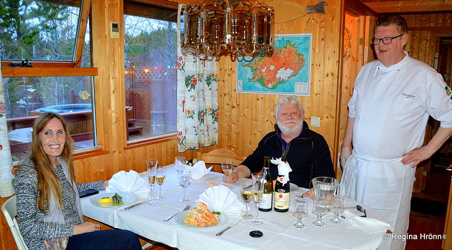 Dining with Ólafur at the Secret Cabin of Thor