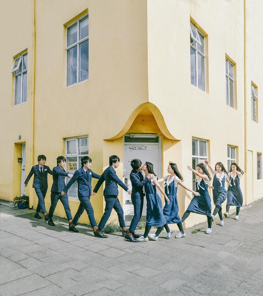冰島雷克雅未克結婚