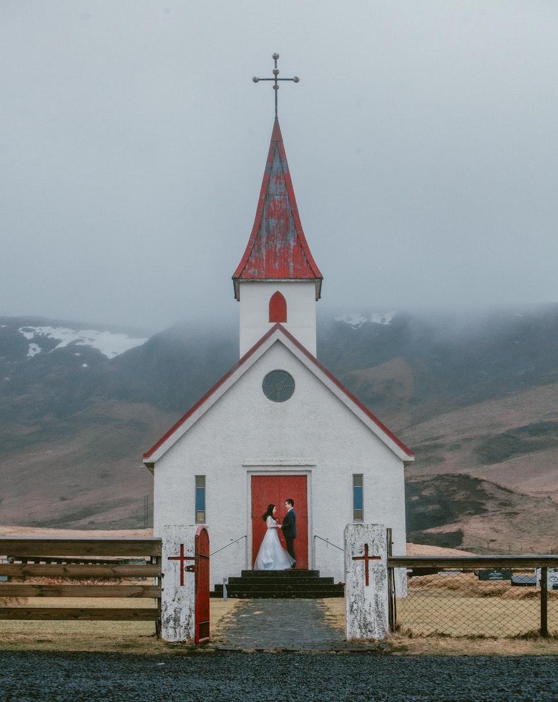在冰島舉辦婚禮
