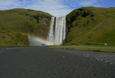 Visite du sud de l'Islande en petit groupe   Transport en minibus