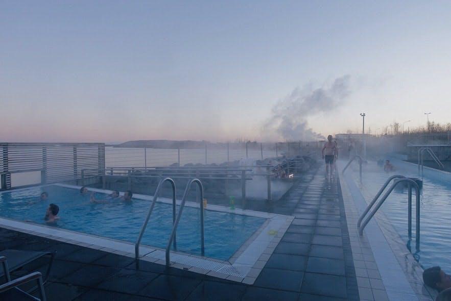 冰岛小众景点-Fontana天然温泉