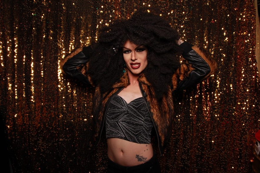 Wanda Star frequently performs with Dragsúgur, a queer variety cabaret group in Reykjavík