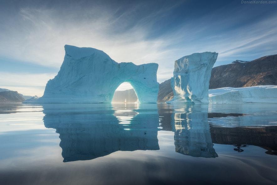 从冰岛去格陵兰旅行只需要飞行3个小时