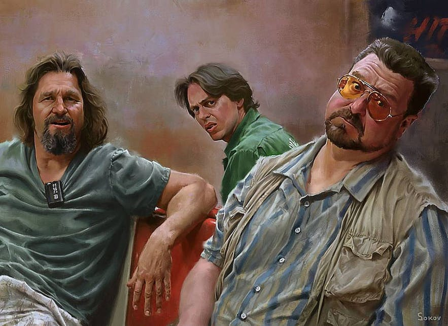 The Dude, Donny and Walter.