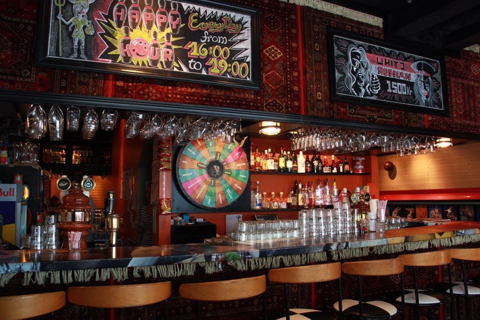 Lebowski Bar has fully invested in creating a venue true to the film.