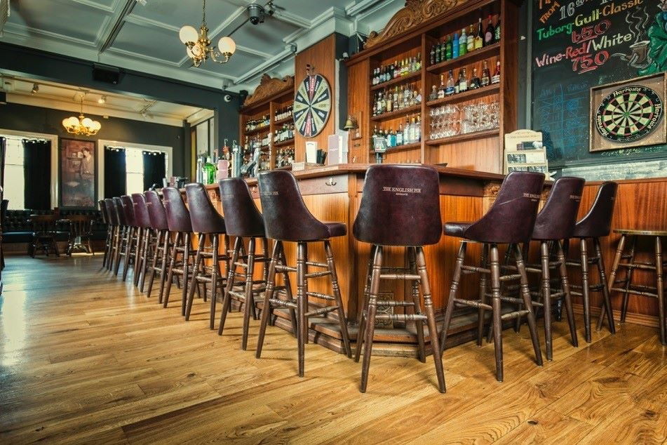 The English Pub is a traditional and cozy venue for sports fans!