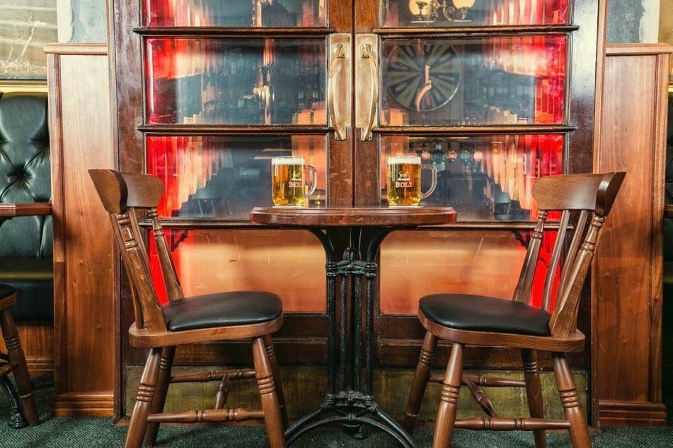The founders of the English Pub spent six years collating the finest alcoholic beverages known to man.
