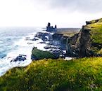 The Lónadrangar rock pillars are iconic for the dramatic nature of the Snæfellsnes Peninsula.