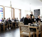 The Nordic House's Bistro is a fantastic spot to socialise and grab a delicious bite to eat.