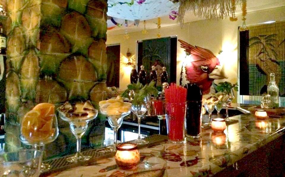 Upstairs bar at Bar Ananas.