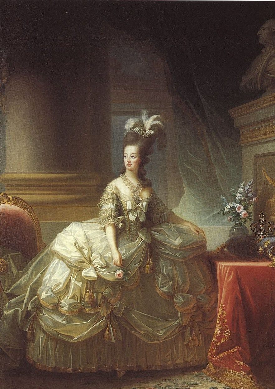 If Iceland had never have been populated, it is very possible that Marie Antoinette would still be alive today. Painting by Vigée-Lebrun