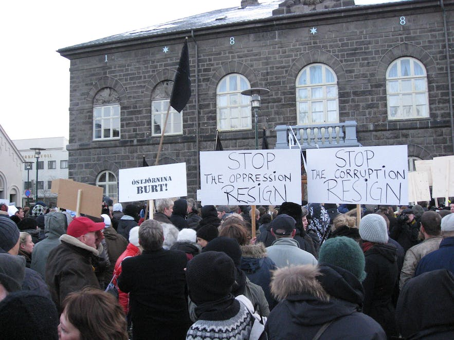 Icelanders basically admitting that the whole 2008 crash was their collective fault. Wikimedia, Creative Commons, photo by Haukur Þorgeirsson (Haukurth)