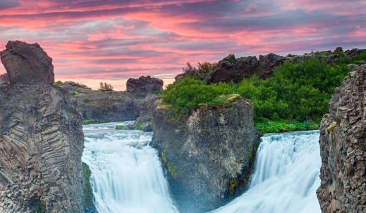 Tour met superjeep naar Landmannalaugar en Hekla-vulkaan
