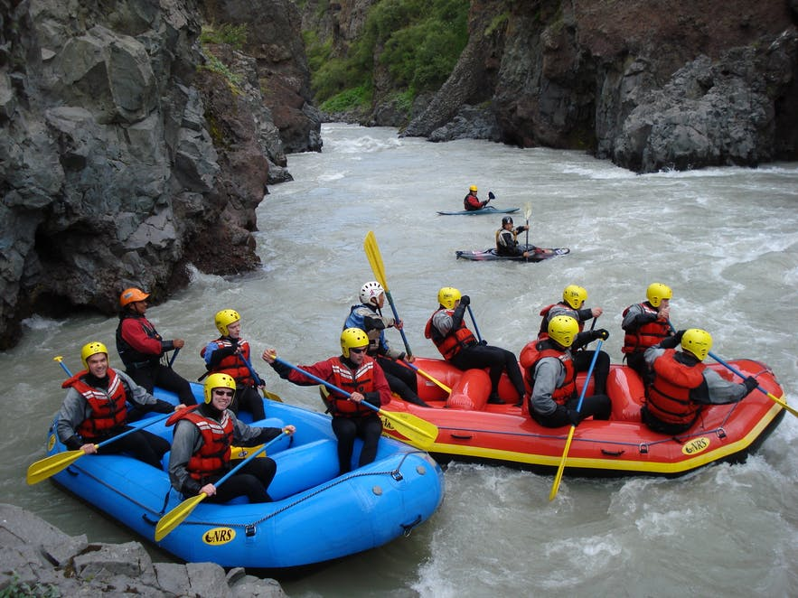River Rafting is not an amusement ride. Make sure to listen closely to the safety briefing.