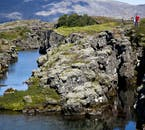 Þingvellir is not only geologically fascinating because of its continental drifting, but stunning to look at as a result, as the lava and glacier rivers come together in a colourful landscape.