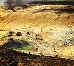 One of the Reykjanes Peninsula's hidden gems, the Seltún geothermal area.
