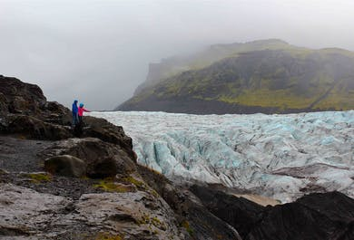 South Coast Sightseeing | Glaciers, Waterfalls & Black Sand Beaches