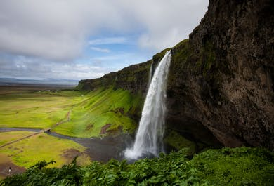 Small Group South Iceland Glacier Hike, Waterfalls & Black Sand Beach Tour