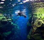 When you go snorkelling in the Silfra Fissure, you are literally swimming between two continents.