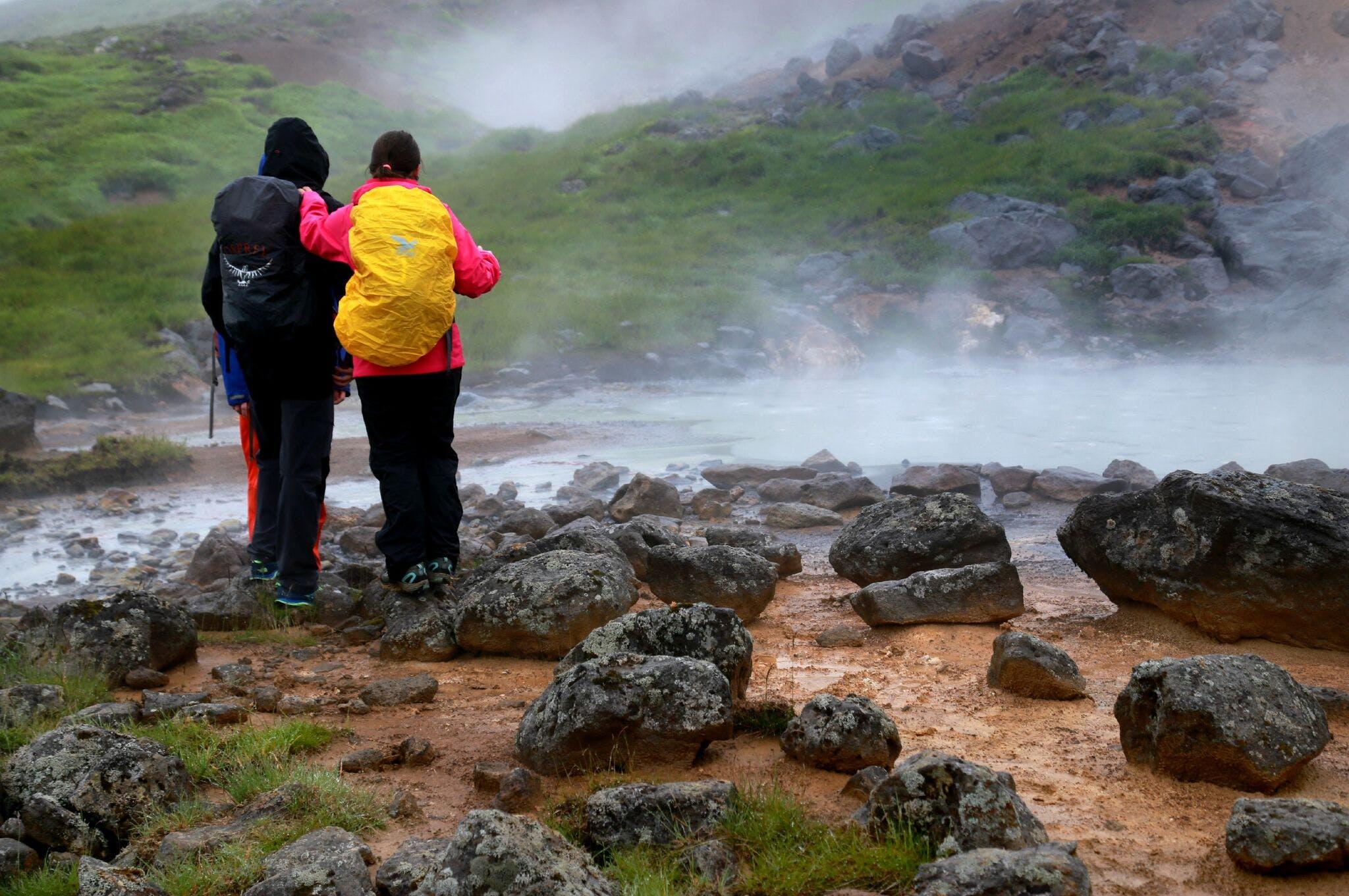 Wycieczka do gorących źródeł w Reykjadalur