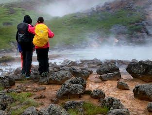 Reykjadalur Hot Spring Hiking Tour